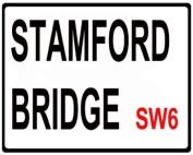 CHELSEA F.C. MINI METAL STAMFORD BRIDGE STREET SIGN