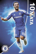 Poster Football FC Chelsea Mata 11/12 with Accessories