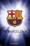 Barcelona - Crest - 91.5x61cm
