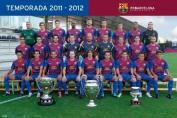 Barcelona - Team 11/12 - 61x91.5cm