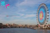Empire 401649 London 2012 - On Target - By Tanya Chalkin - Grösse 91.5 x 61 cm