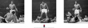 Empire Liston 'Muhammad Ali' Slim Triptych Poster with Accessory Item