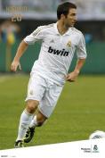 Real Madrid - Higuain 11/12 - 91.5x61cm