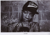 Wiz Khalifa Signed Autographed A4 Photo Print Poster