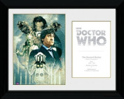 Doctor Who The 2nd Doctor Patrick Troughton Framed Print