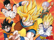 DRAGON BALL Z Poster Saiyans
