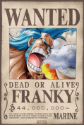 ONE PIECE Poster Wanted Franky