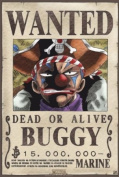 ONE PIECE Poster Wanted Buggy