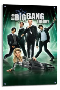 The Big Bang Theory Poster Float Mounted - 90 x 60cms