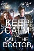 Doctor Who Matt Smith Karen Gillan Keep Calm Signed PP Photo Poster Print A4 21cm x 29.7cm Dr Who