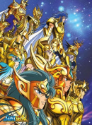 "SAINT SEIYA - Poster ""Golden Knights"""