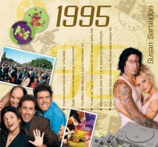18th Anniversary or Birthday ; Music CD and Greeting Card in one; A Time to Remember, The Classic Years -1995