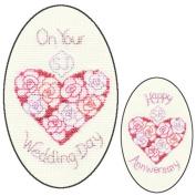 Derwentwater Designs - Greetings Cards - Wedding Day or Anniversary