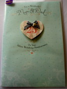 Hallmark Silver Wedding Anniversary Card