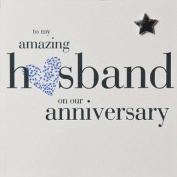 Claire Giles Husband Anniversary Card