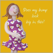 Bump Mum-To-Be Card - Perfect for a baby shower!
