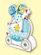 Rachel Ellen Baby Boy Stand Up Card