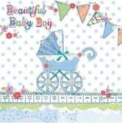 Rachel Ellen Beautiful Baby Boy Card