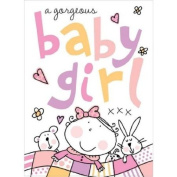 Baby Girl With Bow Occasions Card Collection