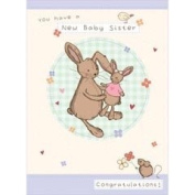 Baby Sister Bunny Occasions Card Collection