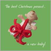 Christmas Baby Card