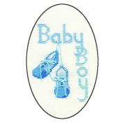 Derwentwater Designs BABY BOY Greeting Card Kit