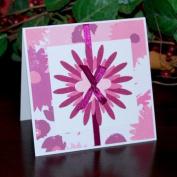 Handmade Flower Cluster Card - Fair Trade