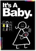 New Baby Card - Chalks Designer Range - It's A Baby. - CK013