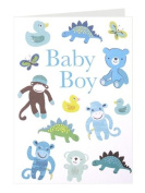 Roger la Borde 'Baby boy toys' greeting cards