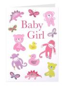 Roger la Borde 'Baby girl toys' greeting cards