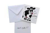 Moo 'Cow' birthday card