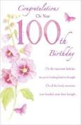 100th Birthday Card 530980