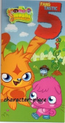 Moshi Monsters Age 5 Birthday Card