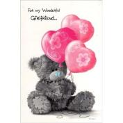 Me To You Tatty Teddy Girlfriend Birthday Card