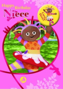 In The Night Garden Niece Badged Birthday Greeting Card
