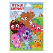 Moshi Monsters Birthday Card - General Open card 120 x 175mm