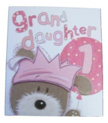 Lots Of Woof Junior Granddaughter 1st Birthday Card 28cm x 24cm Code 280117