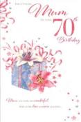 mum 70th birthday, Birthday Card