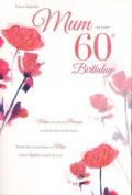 mum 60th birthday, Birthday Card
