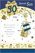 Son 50th Birthday Card