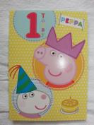 Peppa Pig Age 1 Today Birthday Card