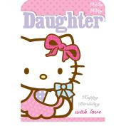 Hello Kitty Daughter Birthday Card
