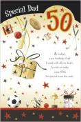50th Birthday Card for a Dad