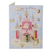 James Ellis Lift The Flap Princess Castle Birthday Card
