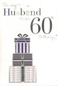 Husband 60th Birthday, Birthday Card