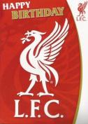 Liverpool Fc Sound Greeting Card