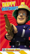 Fireman Sam Happy Birthday Card