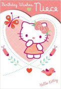 Hello Kitty Niece Birthday Card