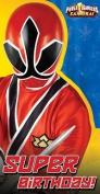 Power Rangers Samuari Birthday Card