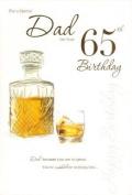 Dad 65th Birthday, Birthday Card